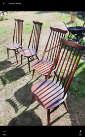4 ercol Windsor chairs