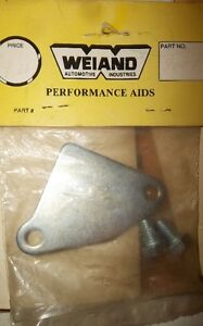 WEIAND #9007 GM EGR BLOCK OFF PLATE