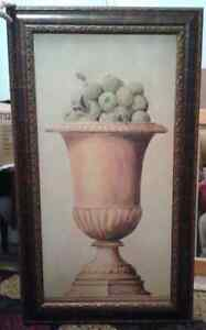 Urn of Green Apples Painting