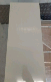 60x30cm Cream Polished Porcelain Tile 10m2 job lot £80