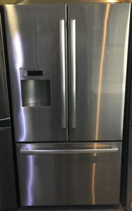Bosch french door stainless steel, with water & ice $1699