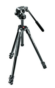 Manfrotto 290 Xtra Tripod with 128RC Fluid Head