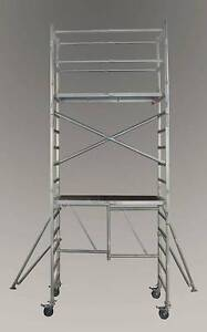 H-Style Aluminium Mobile Scaffolding - 3.6m platform height Revesby Bankstown Area Preview