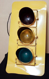 Super Cool Authentic Traffic Light Stoplight SEE VIDEO