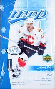 2005-06 Upper Deck MVP - HOBBY - Cartes de hockey - Boîte