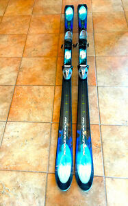 160 cm Rossignol Toon 10.4 Skis with Tryrolia SL 100 Bindings