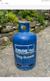 CALOR GAS CYLINDER 15KG HALF FULL