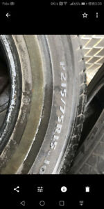 Sale of summer tires p215 75 r15