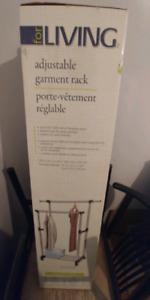 2 Adjustable Garment Racks