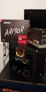 PC GAMER i7 (12 COEURS) + MÉMOIRE DDR4 + VIDÉO 8GB DDR5 + 1TB