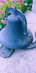 Cast Iron School/ Farm Bell 1886