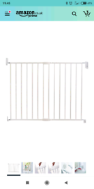 Lindam Wall Fix Extending Metal Safety Gate (Easy Close) Baby toddler