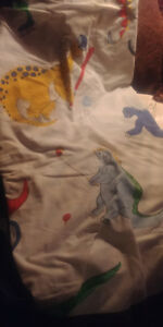 Dinosaur Twin Fitted Sheet * If Ad's Up, Still Available