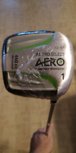 Men's pro select golf driver, graphite