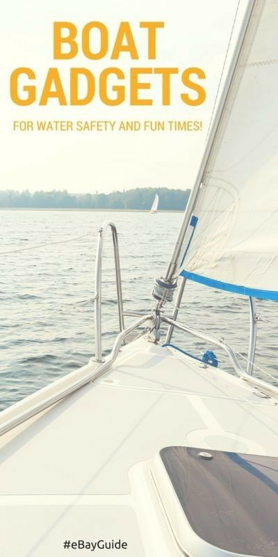 When you go out on your boat, your safety should be the first priority. After safety, then fun. These boat gadgets will