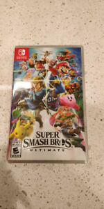 BNIB Super Smash Bros Ultimate (Nintendo Switch)