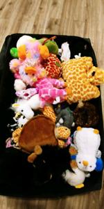 Box of 30+ stuffies