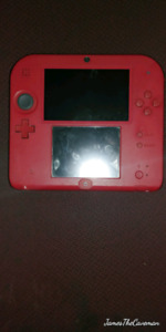 Red Nintendo 2ds for sale.