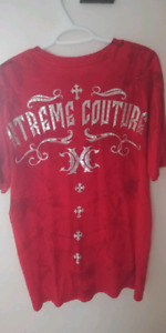 Extreme couture Mens shirt size L