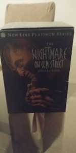 A Nightmare of Elm Street DVD Collection Lot