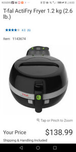 Brand new T-fal Actifry fryer 1.2kg