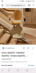 Two stair lifts