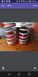 Honda Coilover sleeves