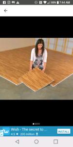 Great Deal! NEW PRICE Interlock flooring. Original cost was $900