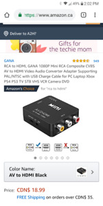 Looking for a cable hdmi to older tv