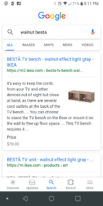 Tv floor and wall mount unit