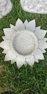 Solid Concrete sunflower