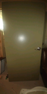 Solid commercial doors