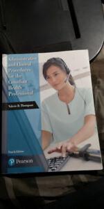 Seneca College- MES BOOKS (Office Admin-Medical)