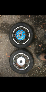 Crf/xr50 rims and supermoto tires