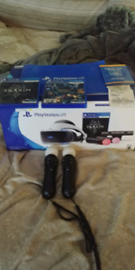 PSVR SKYRIM BUNDLE +14 MONTH WALMART WARRANTY