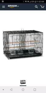 Looking for a cage similar to picture with a divider