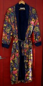 Luxurious 'Silk & Satin' Bath Robe/Dressing Gown