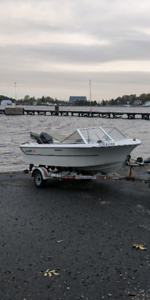 Wilker Galaxy 15 with 50hp