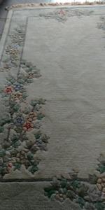 Tapis en laine 5' x 7' très propre