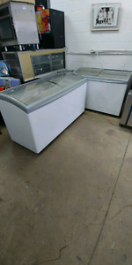 Commercial display freezer for sale. Delivery available.