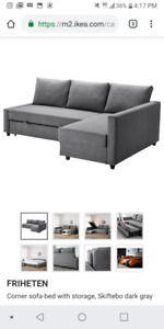 IKEA Couch Pull Out Friheten