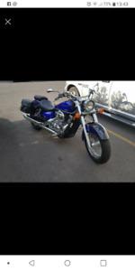 Moto Honda Shadow 750 ( 2005 )
