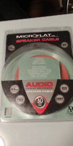 Microflat Speaker cable