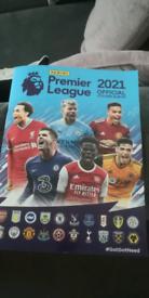 Panini Premier league sticker collection 2021 (complete 642 stickers)