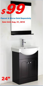 STYLISH BATHROOM VANITIES WASHROOM SINK FROM $99 BEST PRICE