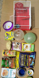 ☆☆☆ HAMSTER CAGE, FOOD AND ACCESSORIES!!! ☆☆☆