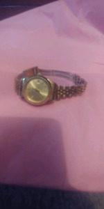 Women's Gold Pierre Cardin wrist watch