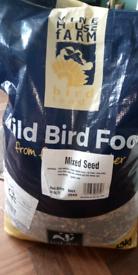 Bird seed for wild birds. 13kg