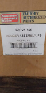 BRAND NEW CARRIER 320725-756 INDUCER ASSEMBLY