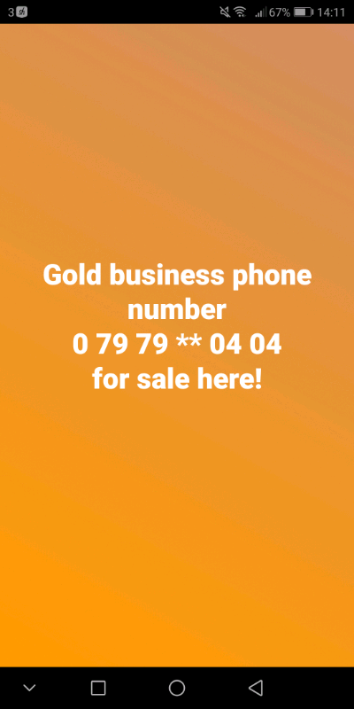 gold business phone number | in Sutton, London | Gumtree